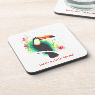 Toucans Are Better Than One! Coasters x 6