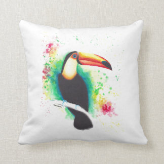 Toucans Are Better Than One! Cotton Pillow