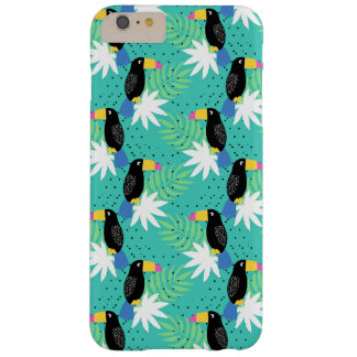 Toucans On Teal Barely There iPhone 6 Plus Case