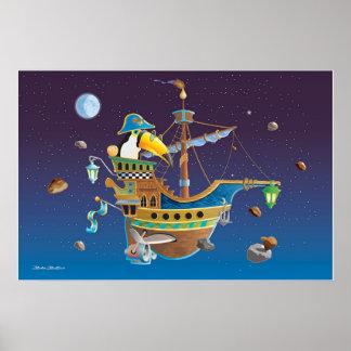 Toucans Voyage Poster
