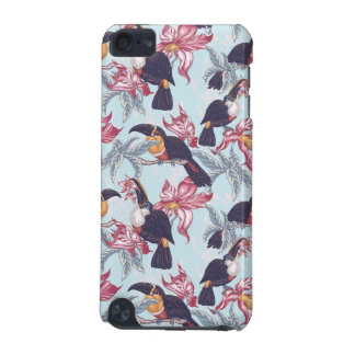Toucans With Exotic Flowers iPod Touch 5G Case