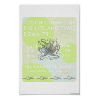 Touch Committee Poster