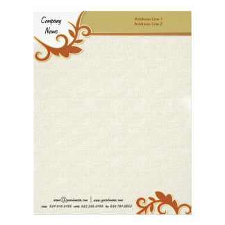 Touch of Class Letterhead