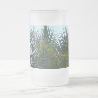 Touch of Nature Frosted Glass Beer Mug