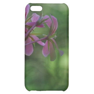 Touch of Pink Geranium Cover For iPhone 5C