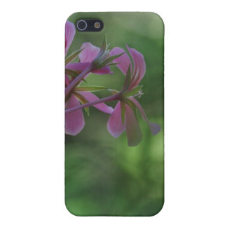 Touch of Pink Geranium iPhone 5 Covers