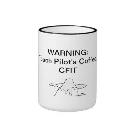 Touch Pilot's Coffee, CFIT (acronym) Mug