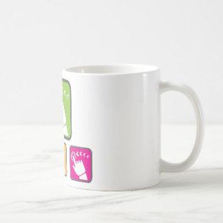 Touch Screen icon Classic White Coffee Mug