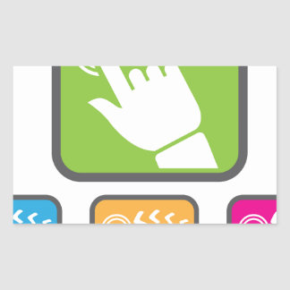 Touch Screen icon Sticker