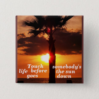Touch somebody's life_ Button