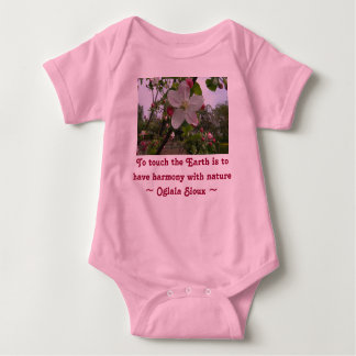 touch the Earth infant onsie creeper