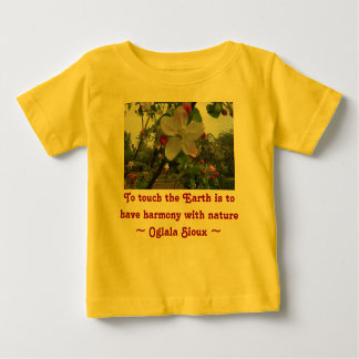 touch the Earth infant shirt