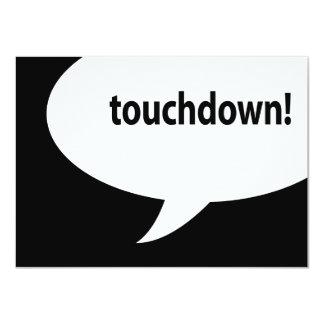 touchdown! card