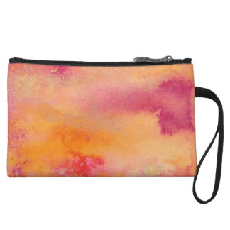 Touched by Fire Watercolour Wristlet