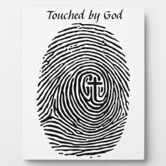 Touched by God Plaque