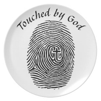 Touched by God Plate