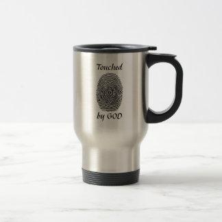 Touched by God Travel Mug
