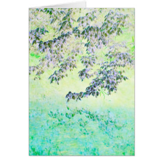 """Touched by Spring"" - Card"