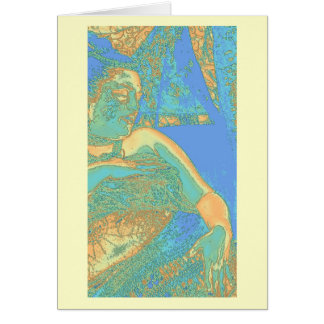 Touching Oshun - notecard