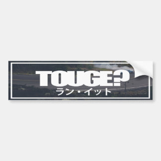 Touge? Bumper Sticker