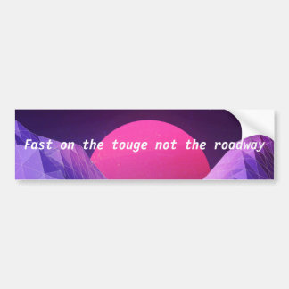 TougeSticker Bumper Sticker
