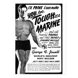 Tough As A Marine! Postcard