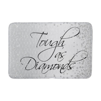 TOUGH AS DIAMONDS BATH MAT