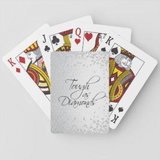 TOUGH AS DIAMONDS PLAYING CARDS