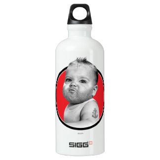 Tough Beared Baby Boy Water Bottle