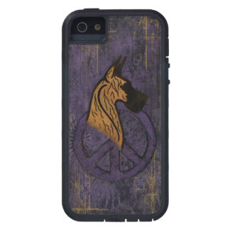 Tough Extreme I-Phone 5 Case W/Brindle Dane