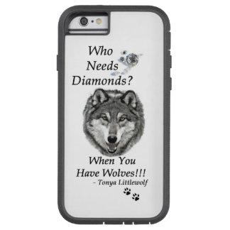 Tough Extreme IPhone 6 Case - Wolf Mtn Sanctuary