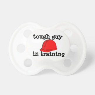 Tough Guy in Training Baby Pacifier