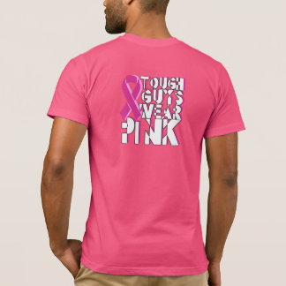 Tough Guys Breast Cancer Awareness Shirt