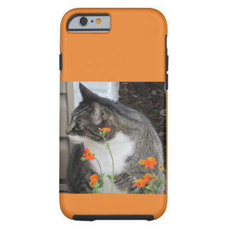 Tough iPhone case - Tabby Design