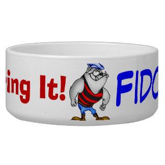 Tough Little Dog Customized Dog Bowls