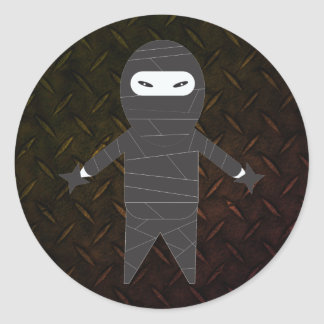Tough Ninja Fighter Mailing Stickers