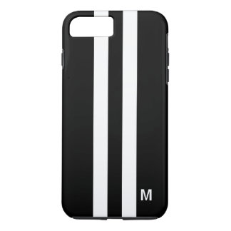 Tough Racing Stripe iphone 7 Plus Case for Men
