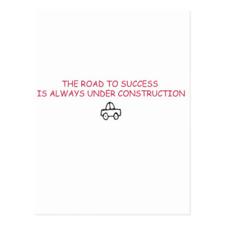 TOUGH ROAD POSTCARD