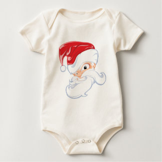 Tough Santa Baby Bodysuit
