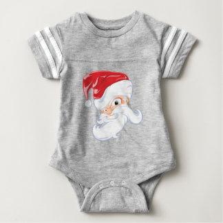 Tough Santa Baby Bodysuit