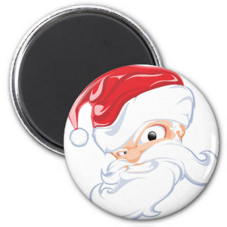 Tough Santa Magnet
