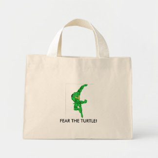 Tough Terrapin Mini Tote Bag