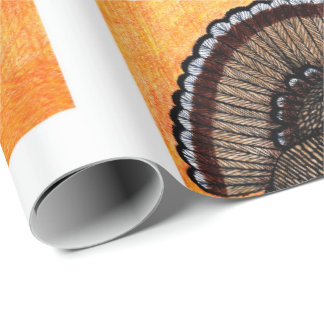 Tough Turkey Wrapping Paper
