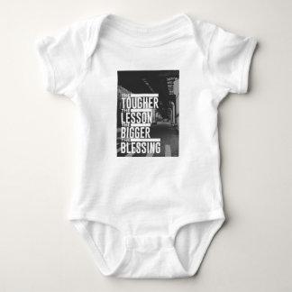 Tougher Lesson Bigger Blessing Baby Bodysuit