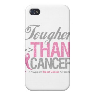 Tougher than Breast Cancer iPhone 4 Cases