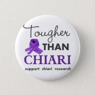 Tougher than Chiari 2 Inch Round Button