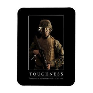 Toughness: Inspirational Quote 1 Magnet