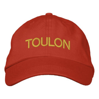 Toulon Cap Embroidered Hat