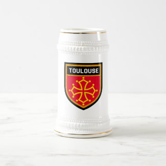 Toulouse Flag Beer Stein