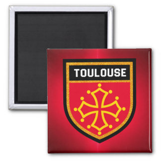 Toulouse Flag Magnet